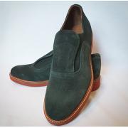 Shu-Lok Shoe Green Suede