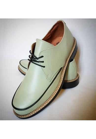 Dynamite Sea Green Leather