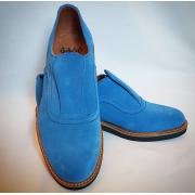 Shu-Lok Shoe Light Blue Suede