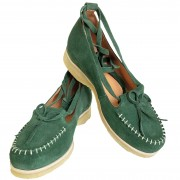 Grace Green Suede Crepe Sole