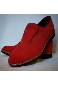 Shu-Lok Shoe Red Suede