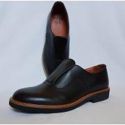 Shu-Lok Shoe Black Leather