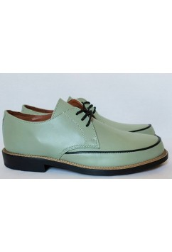 Dynamite Sea Green Leather