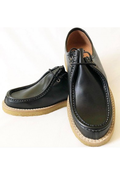Meteor Black Leather