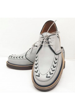 Tornado Grey Leather