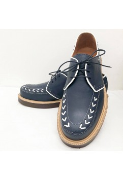 Tornado Blue Leather