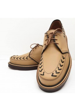 Tornado Beige Leather