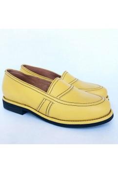 Lauren Yellow Leather