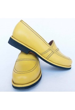 Lauren Yellow Leather