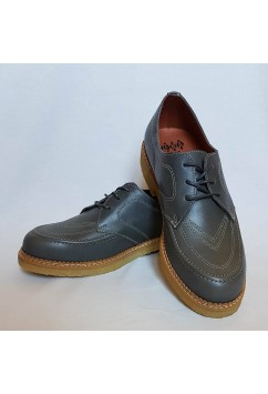 Boomerang Grey Leather