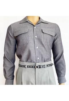 Flap Pocket Grey
