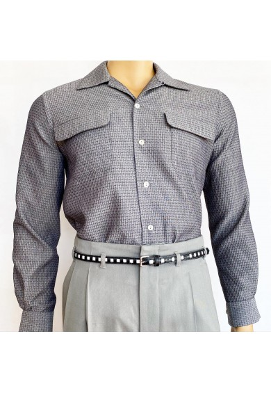 Flap Pocket Grey