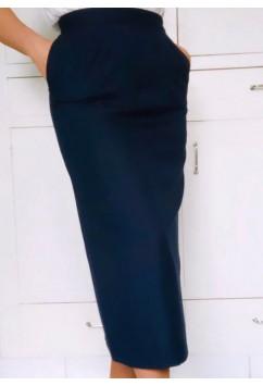 Skirt 'Sue' Navy blue