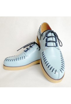 Sputnik LIght Blue with Navy