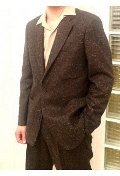 Suit  Brown Flecked