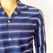 Striped Blue & Grey