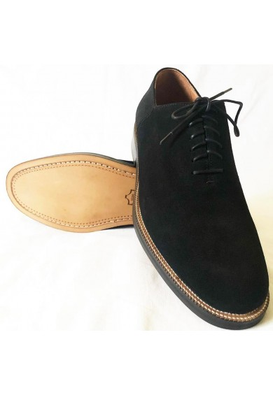 Matchbox Black Suede