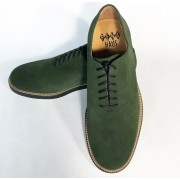 Matchbox Green Suede