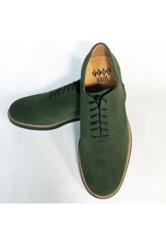 Matchbox Green Suede