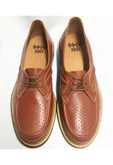 Satellite Brown Leather