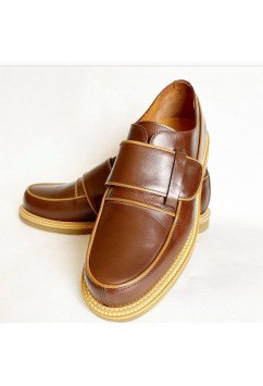 Vargas Brown and Camel Leather